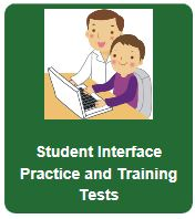 Student practice and training tests