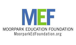 Logo for the Moorpark Education Foundation with a link to the organization s website