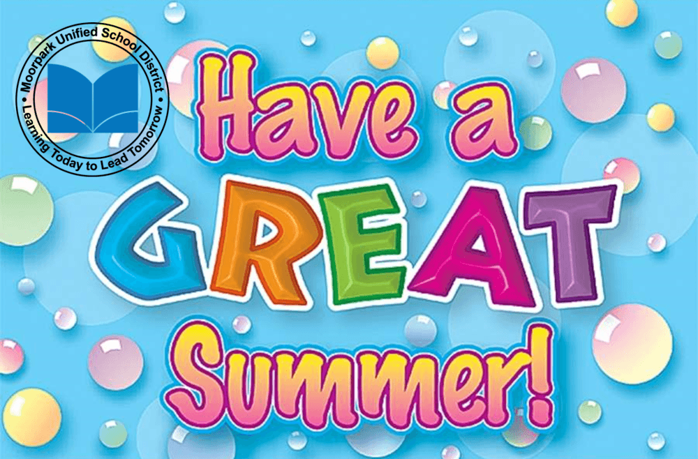 This graphic says Have a great summer!